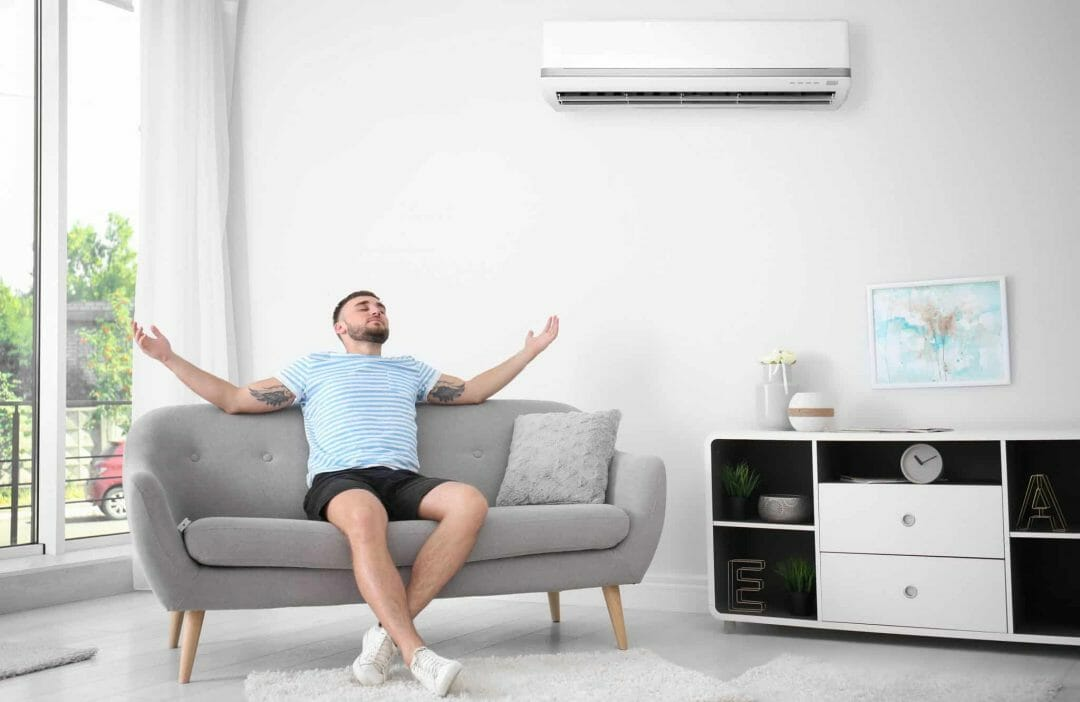 Relax with smarter MyAir ducted air conditioning