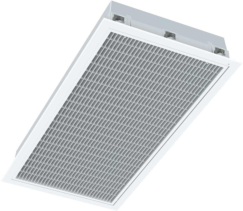 Rectangular ducted air conditioning grille install Brisbane