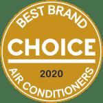 mitsubishi choice best brand air conditioner award